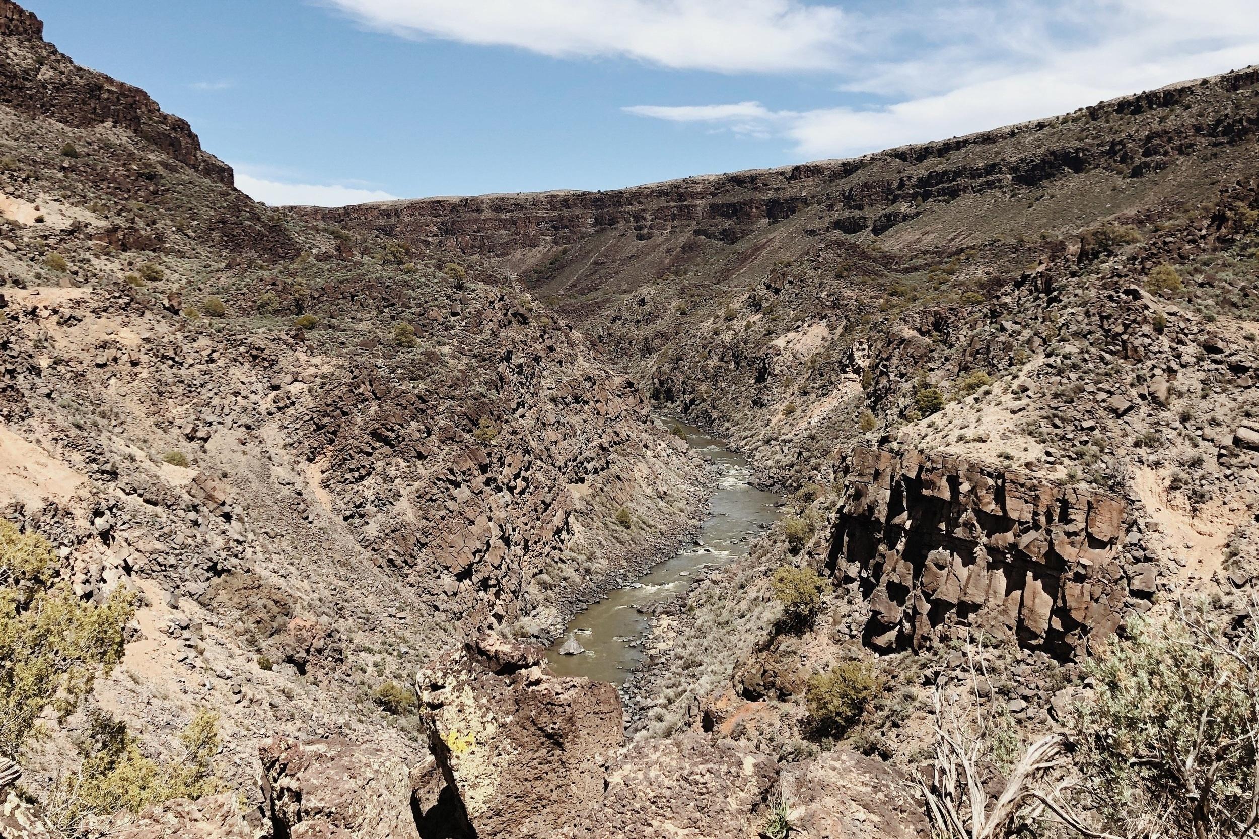 Rio Grande Gorge from La Vista Verde Trail.