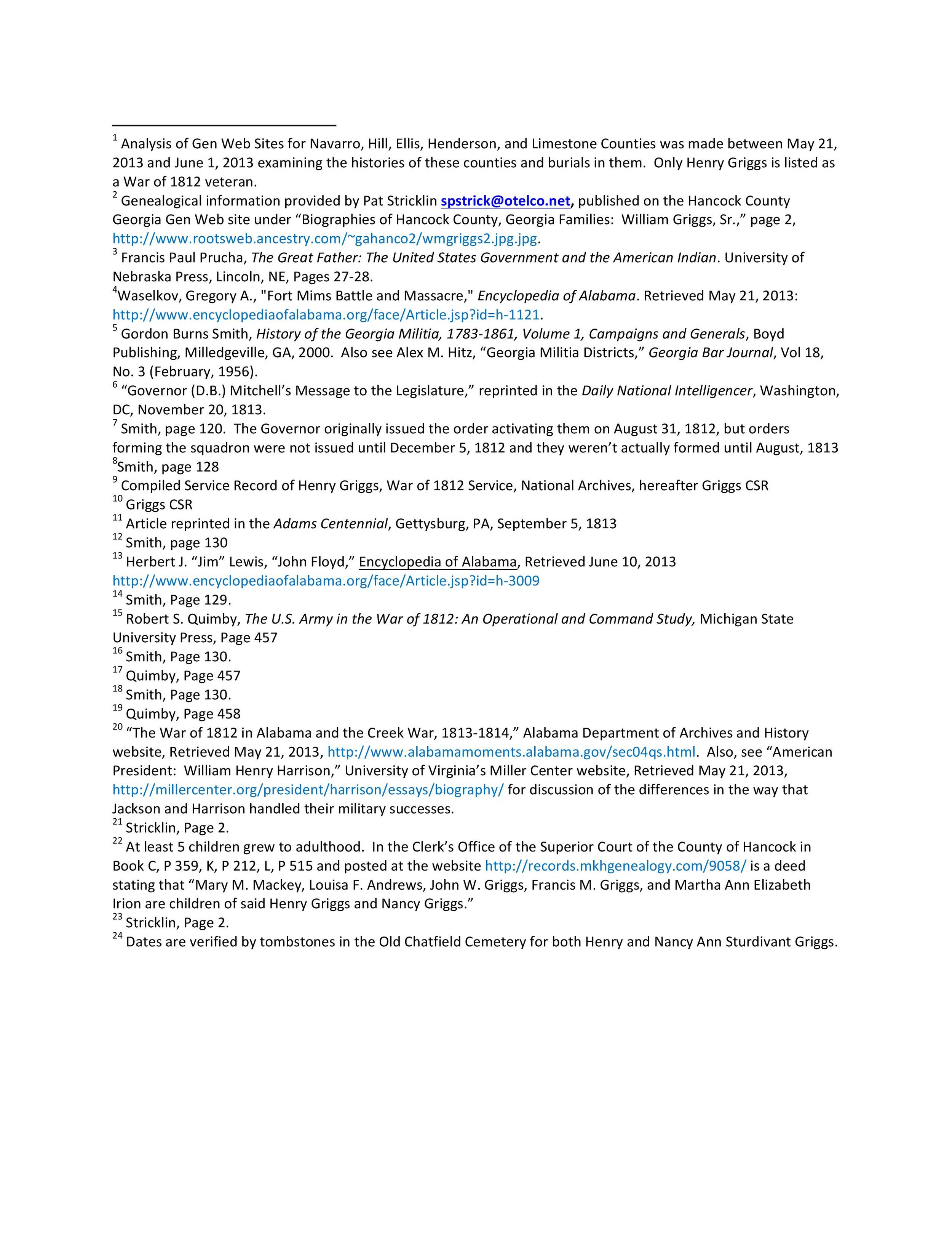 Henry Griggs: Bio, Citations