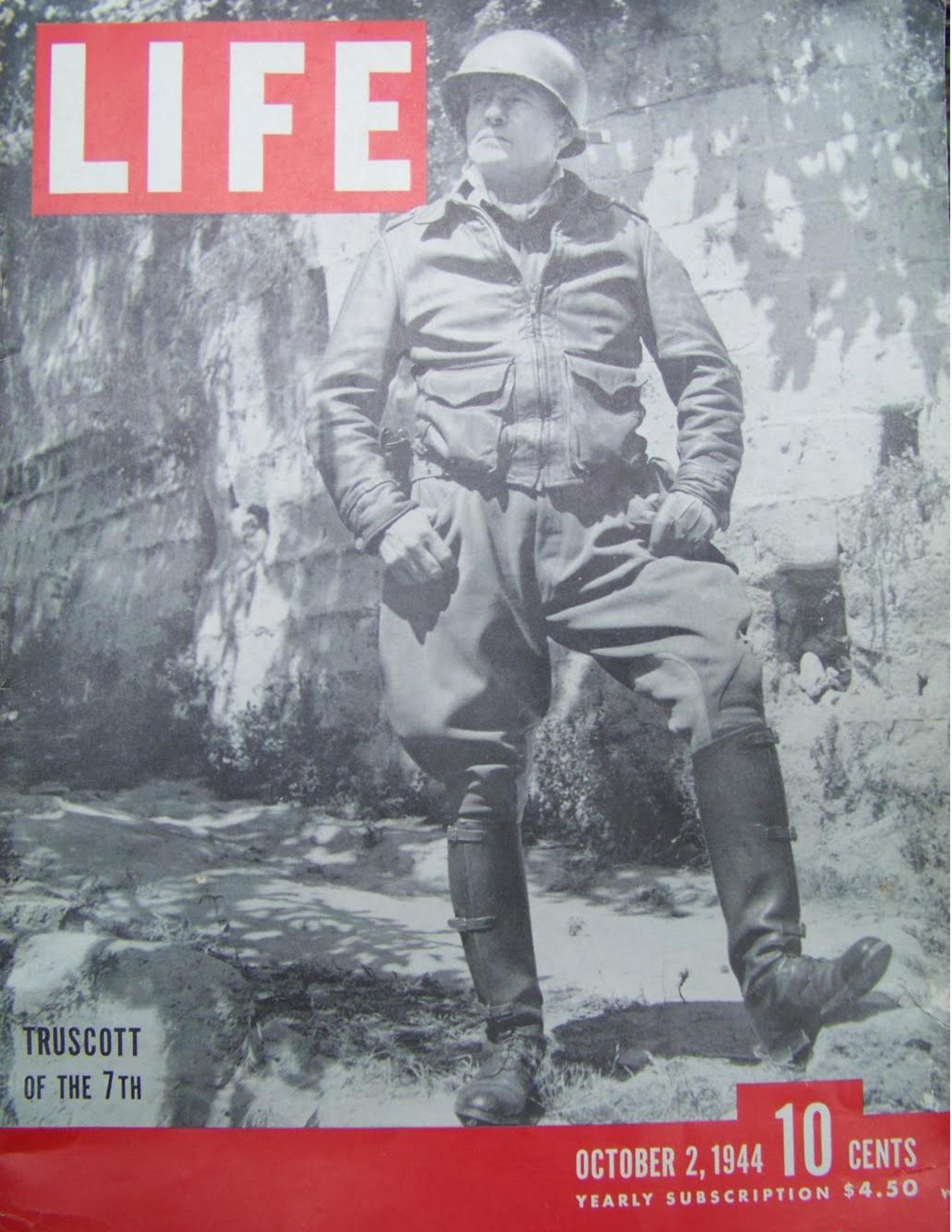 Lucian Truscott LIFE: Cover