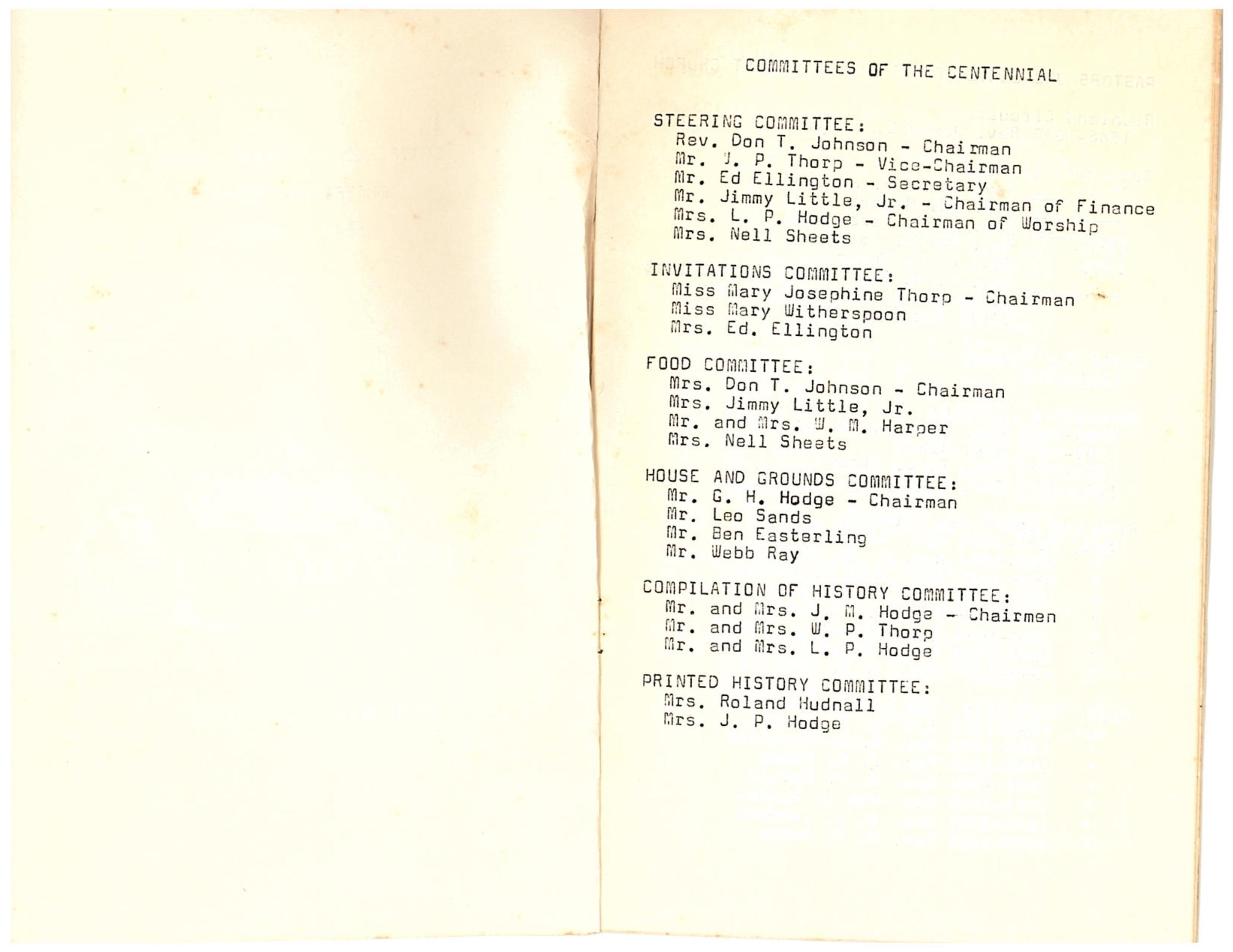 Chatfield MC Centennial: Page 1