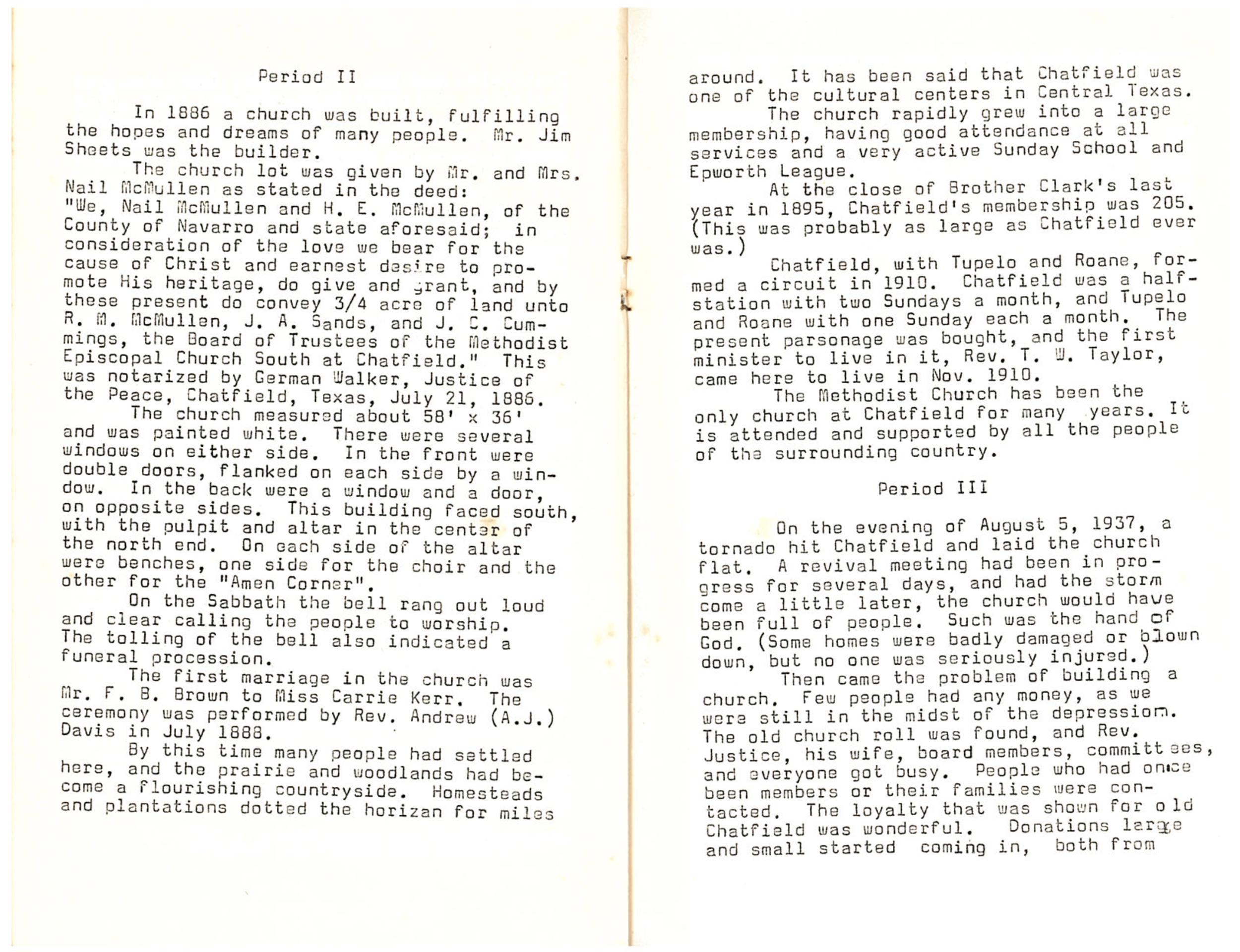 Chatfield MC Centennial: Page 5