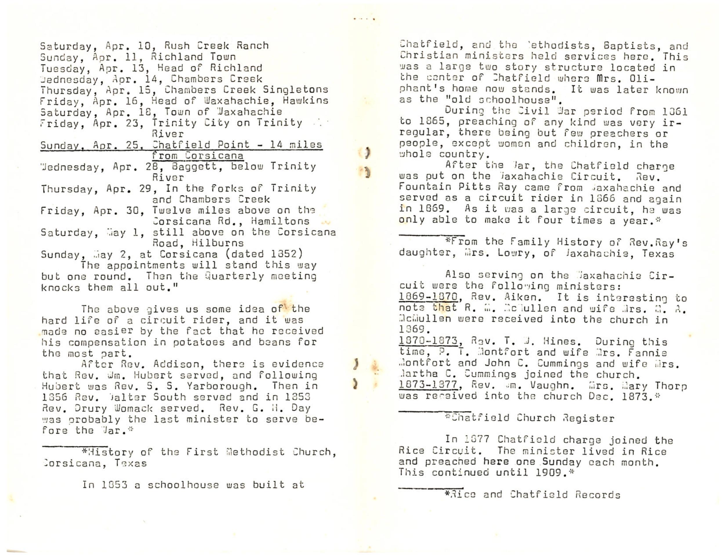 Chatfield MC Centennial: Page 4