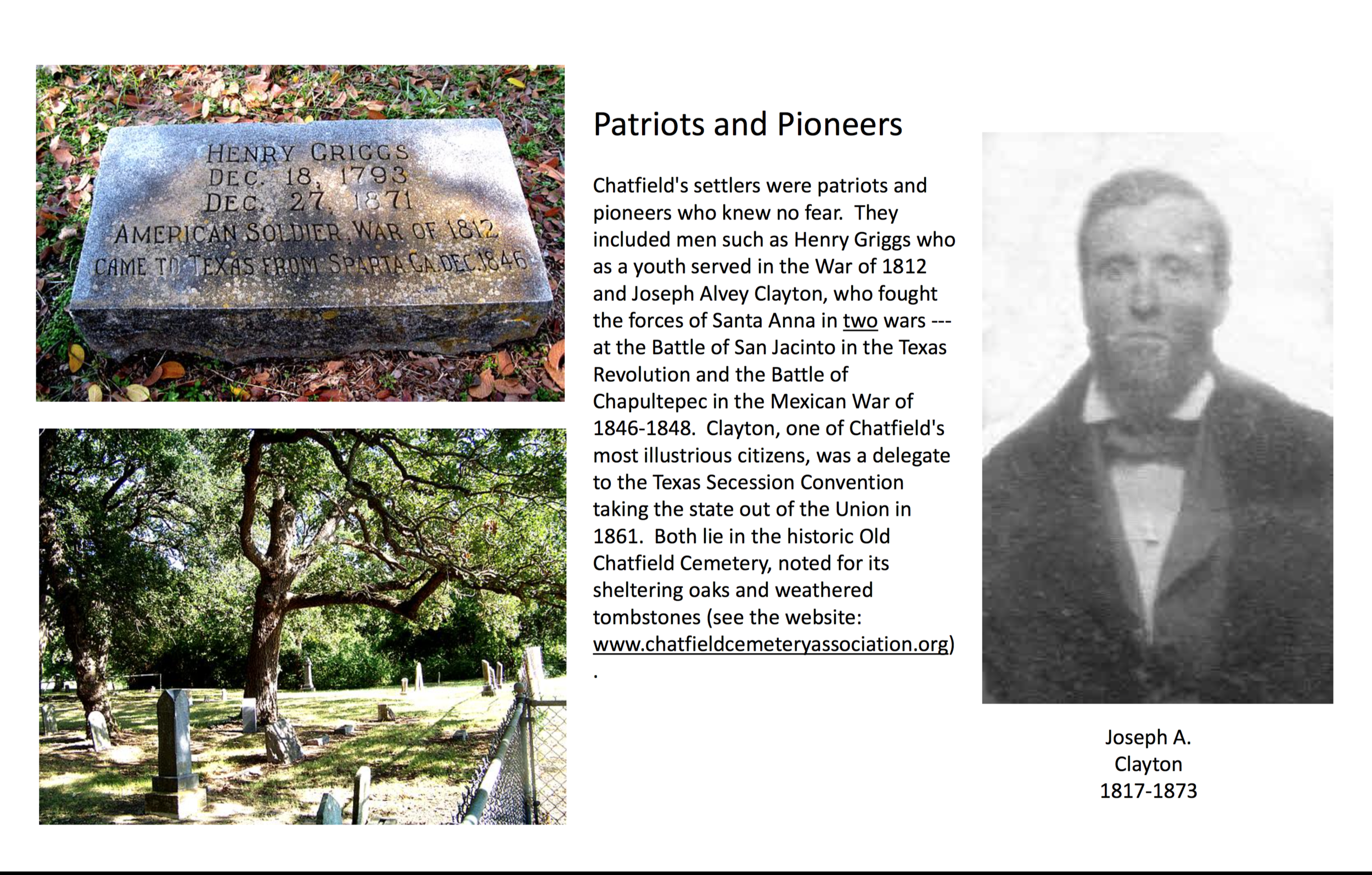 Chatfield History Display: Page 6