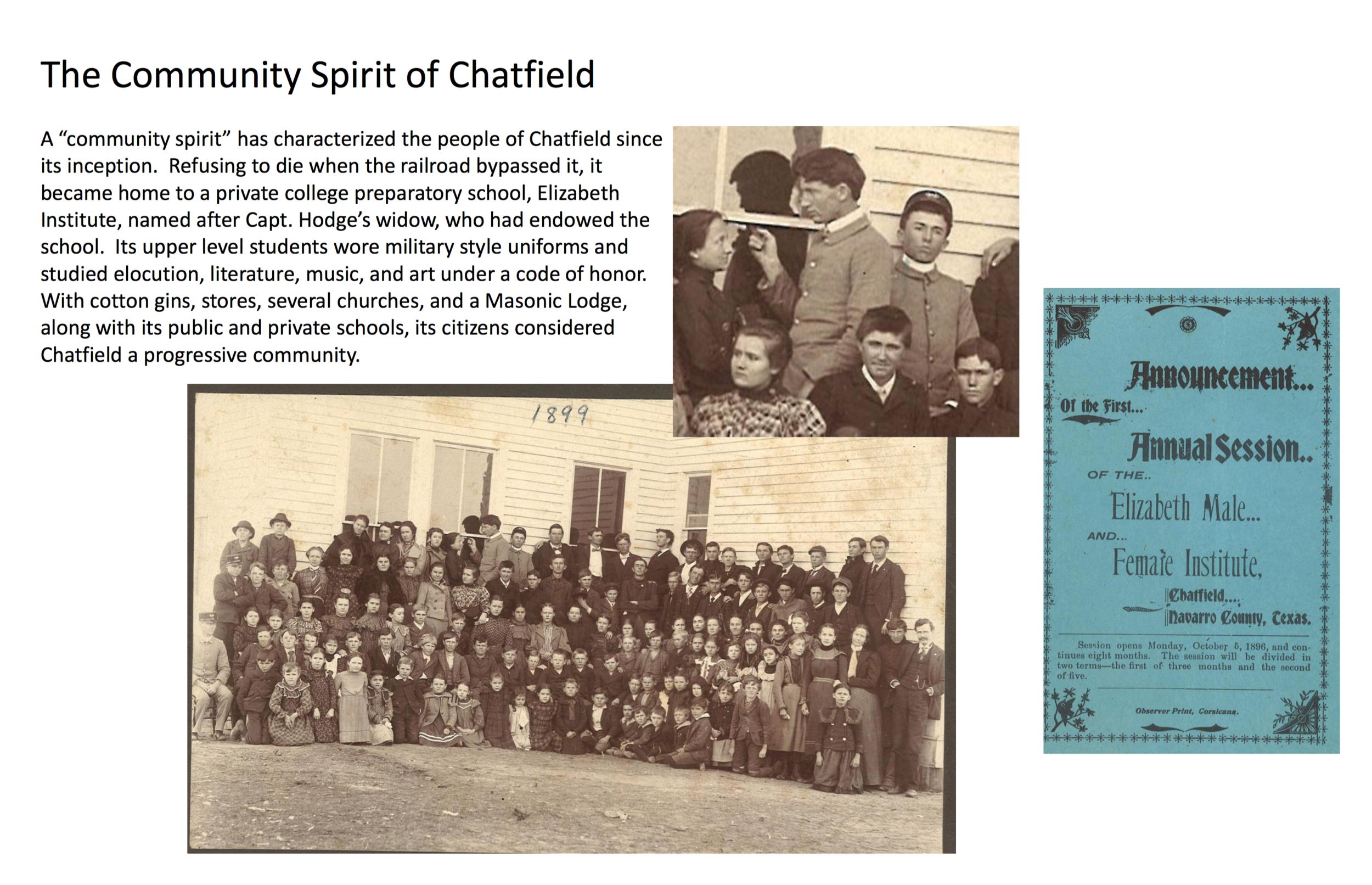 Chatfield History Display: Page 10