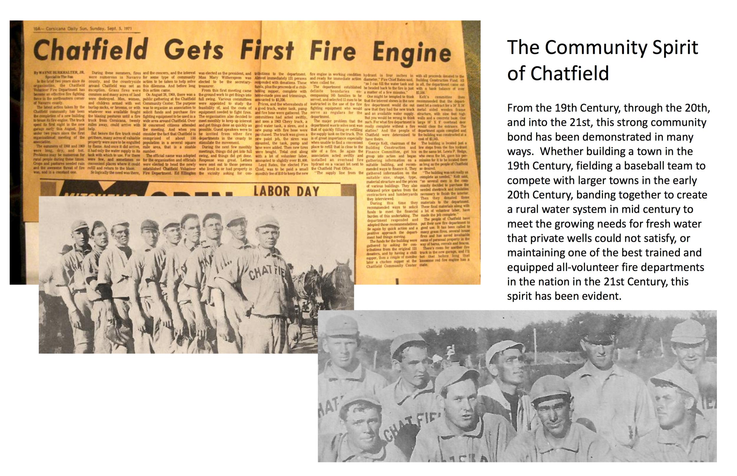 Chatfield History Display: Page 11