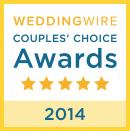 Wedding Wire Couples' Choice Award 2014
