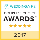 Wedding Wire Couples' Choice Award 2017