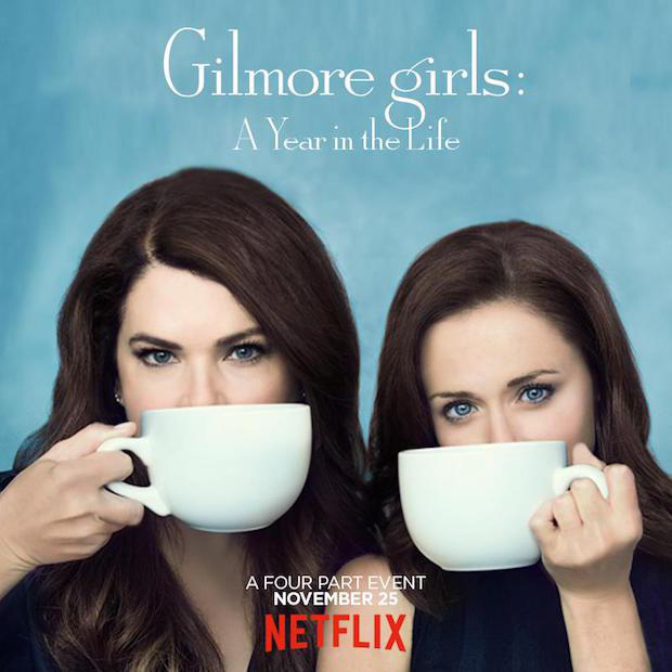 Gilmore Girls: A Year in the Life via Netflix