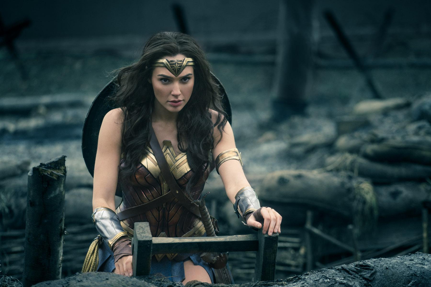 Gal Gadot as Wonder Woman (2017)