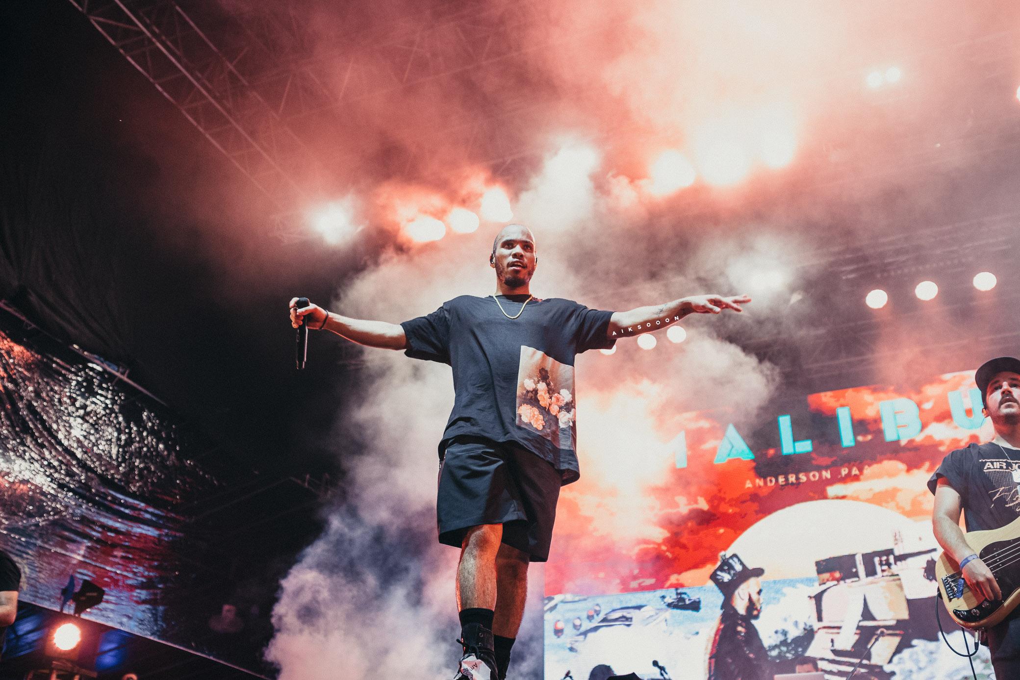 LANEWAY FESTIVAL 2018: ANDERSON .PAAK