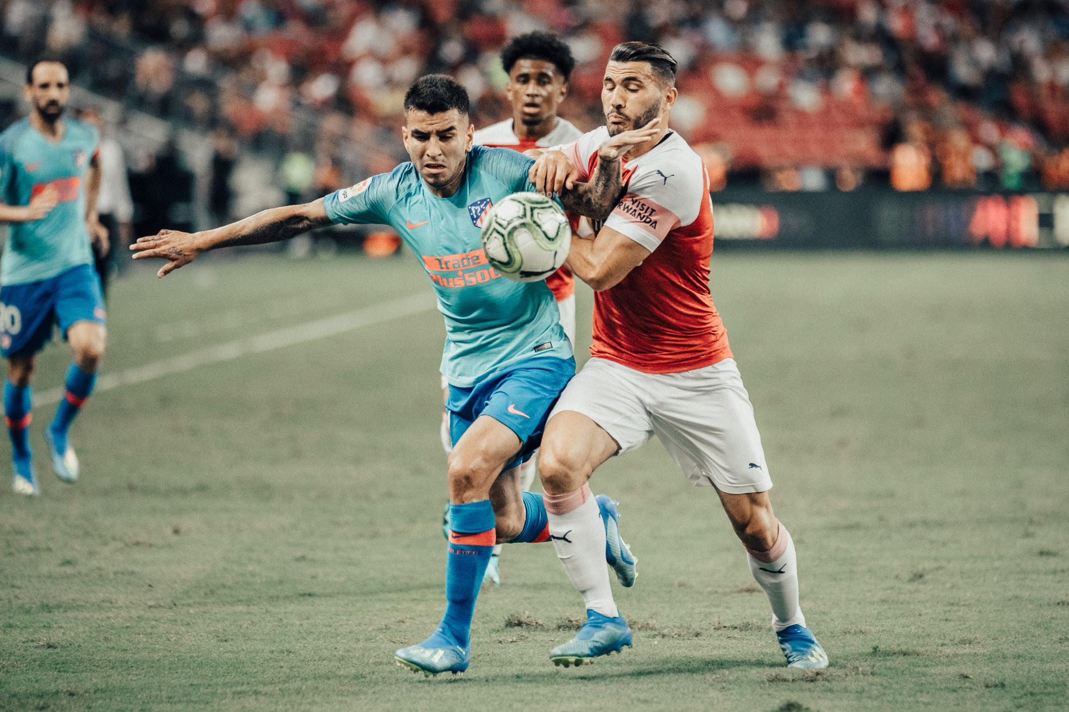 ICC 2018: ARSENAL VS ATLETICO (ANGEL CORREA)