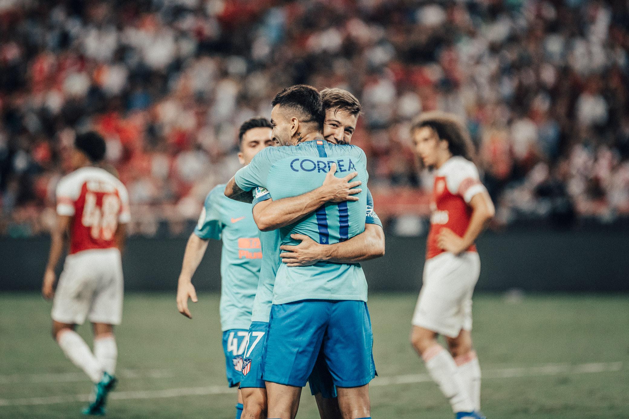 ICC 2018: ARSENAL VS ATLETICO (LUCIANO VIETTO)