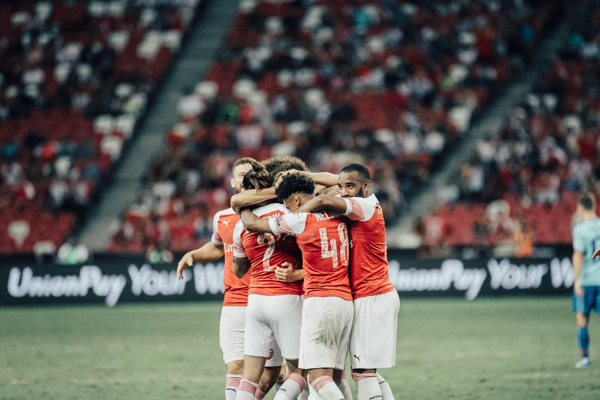 ICC 2018: ARSENAL VS ATLETICO