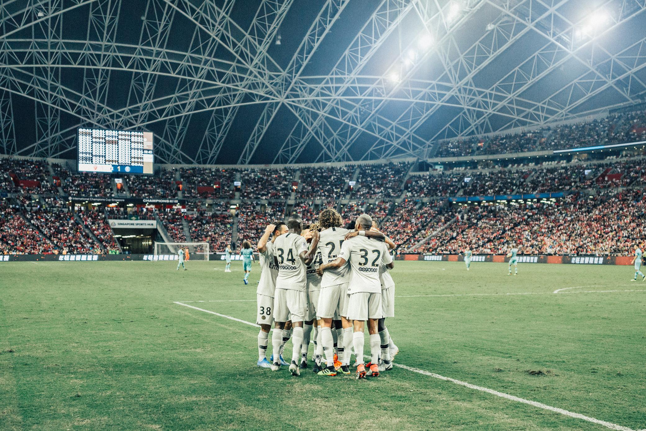 ICC 2018: PSG VS ARSENAL