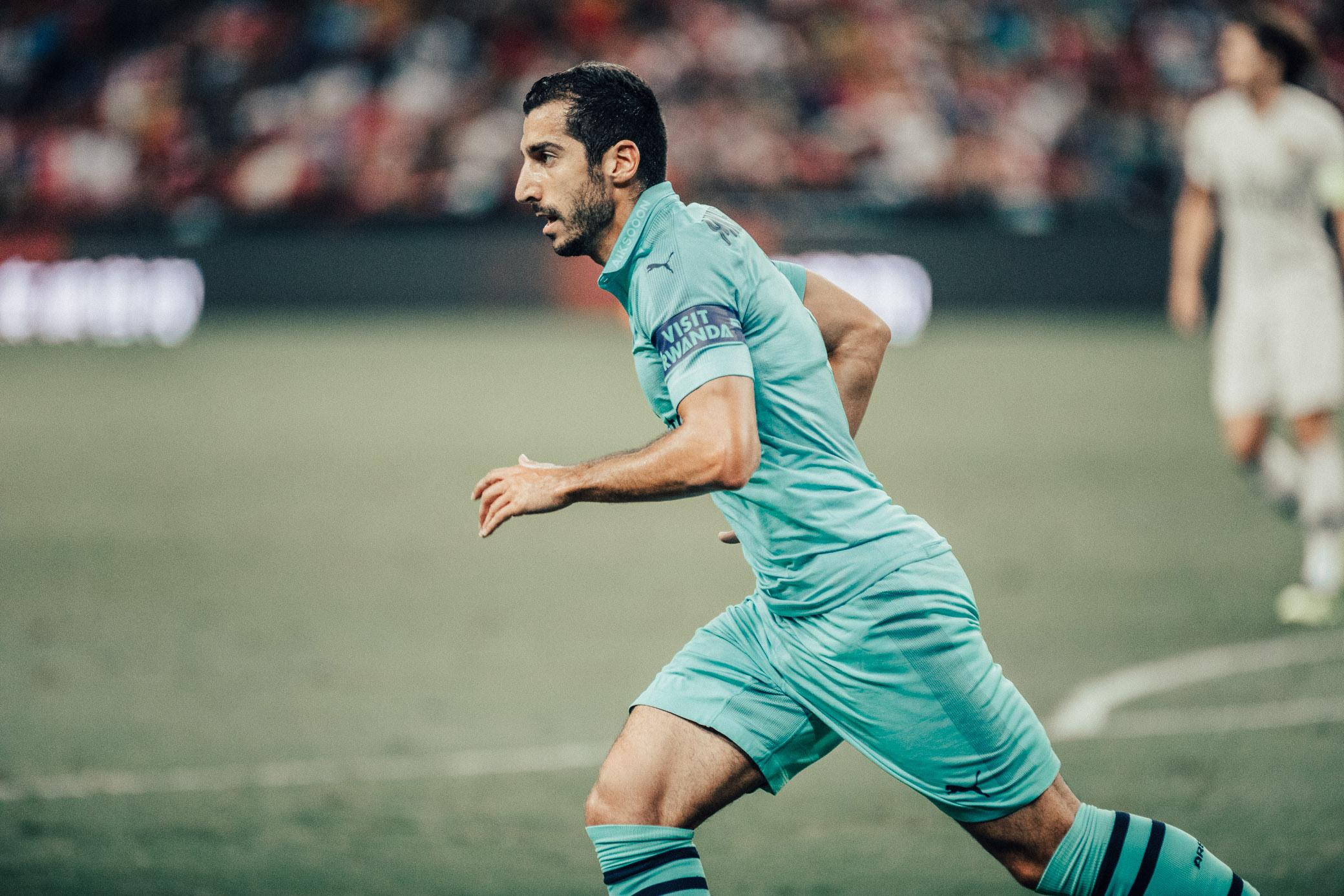 ICC 2018: PSG VS ARSENAL (MKHITARYAN)
