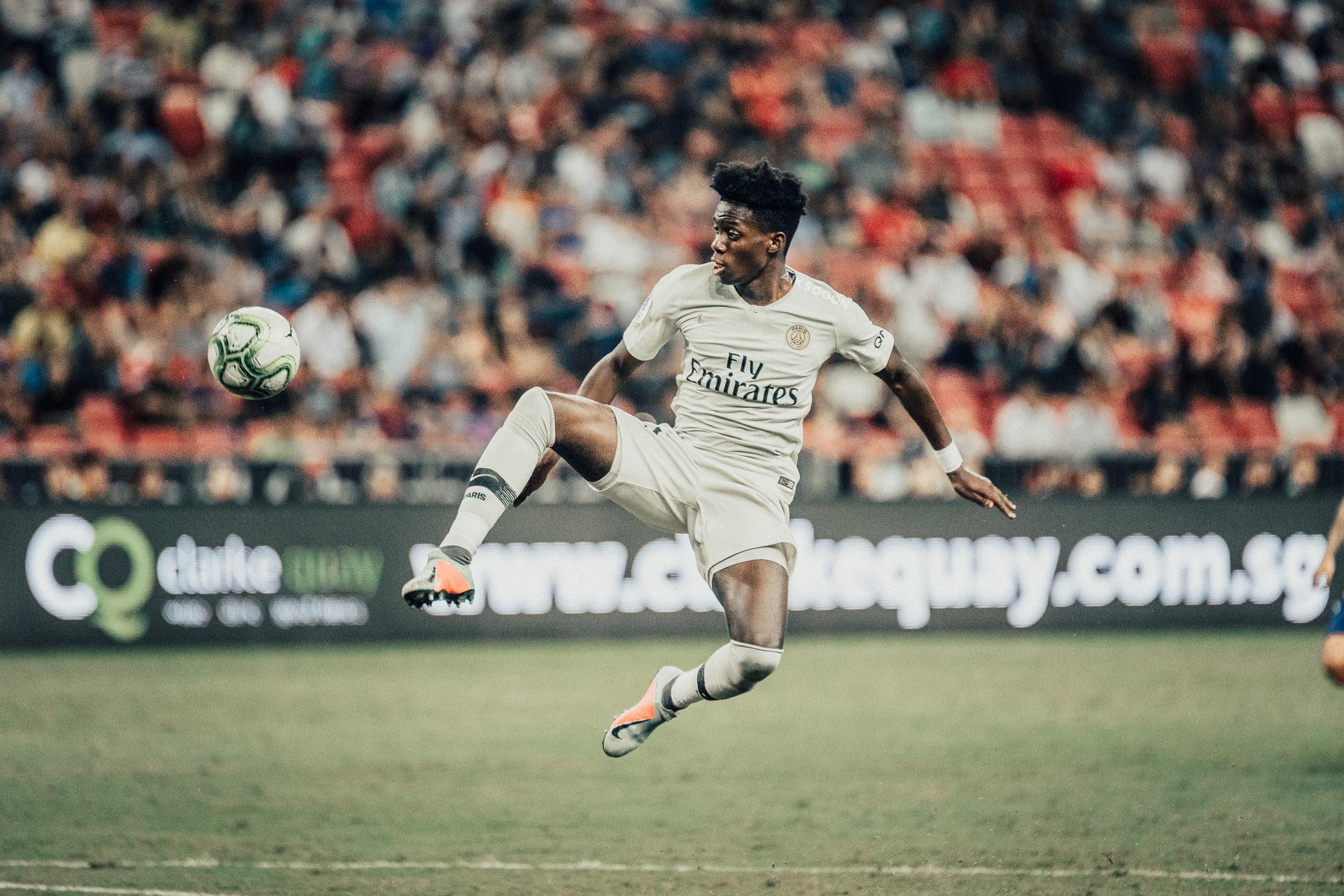 ICC 2018: PSG VS ATLETICO (TIMOTHY WEAH)