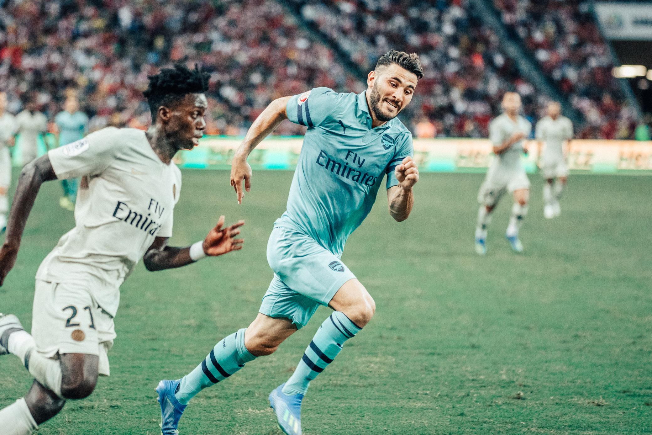 ICC 2018: PSG VS ARSENAL (KOLASINAC)