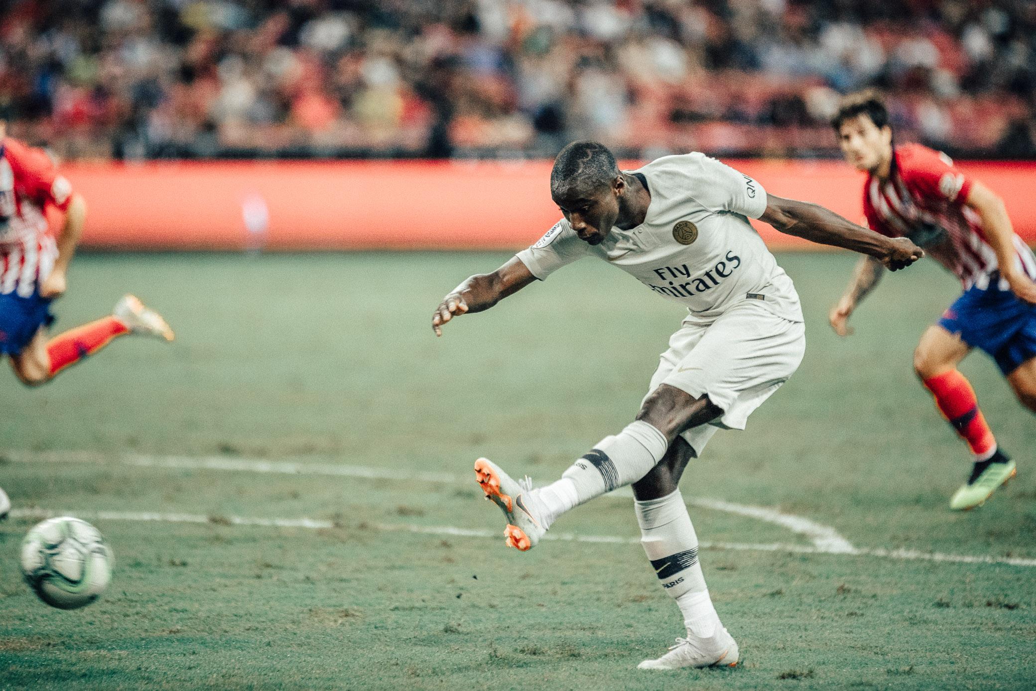 ICC 2018: PSG VS ATLETICO (MOUSSA DIABY)