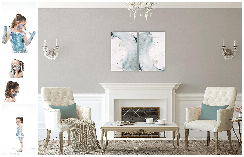 Andrea-Burolla-Photography-Denver-Childrens-photographer-kids-paint-session-little-girl-covered-in-paint-abstract-art-custom-living-room-design