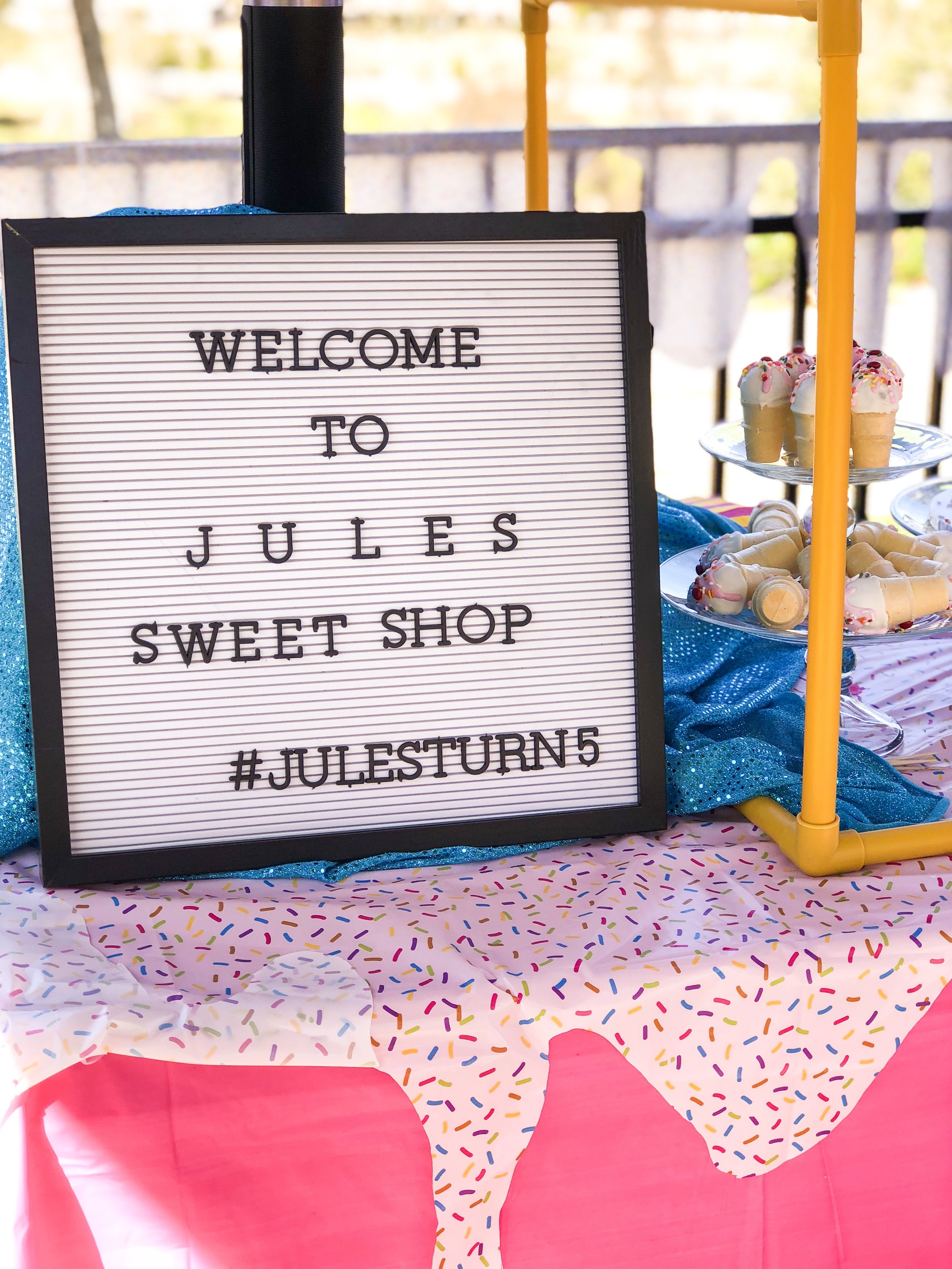 This was suppose to say #julesturns5 Lack of sleep is the result!! HAHAH!