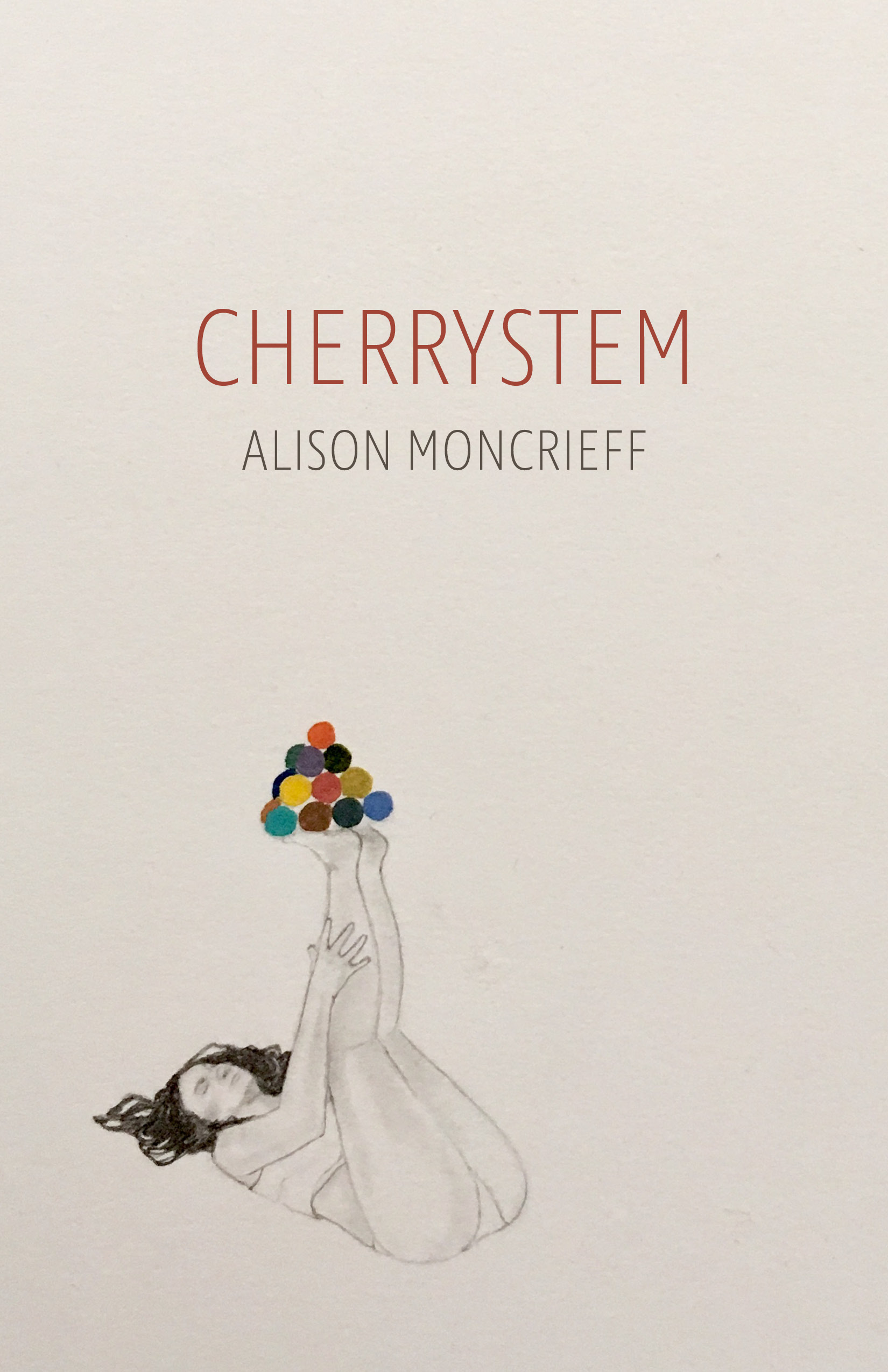 - Cherrystem was published by Finishing Line Press in May, 2017. These poems are rumors, dream snippets, memories of cartoons & meals & hospital visits & humans. It's a book of everyday mourning. Cover art by Sandra Wong Orloff.Buy your copy from Finishing Line Press!Buy a signed copy from me here!