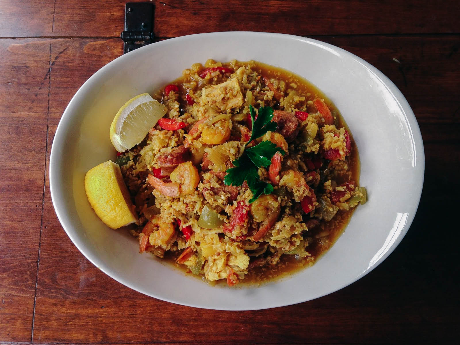 Paleo Paella by Worthy Pause