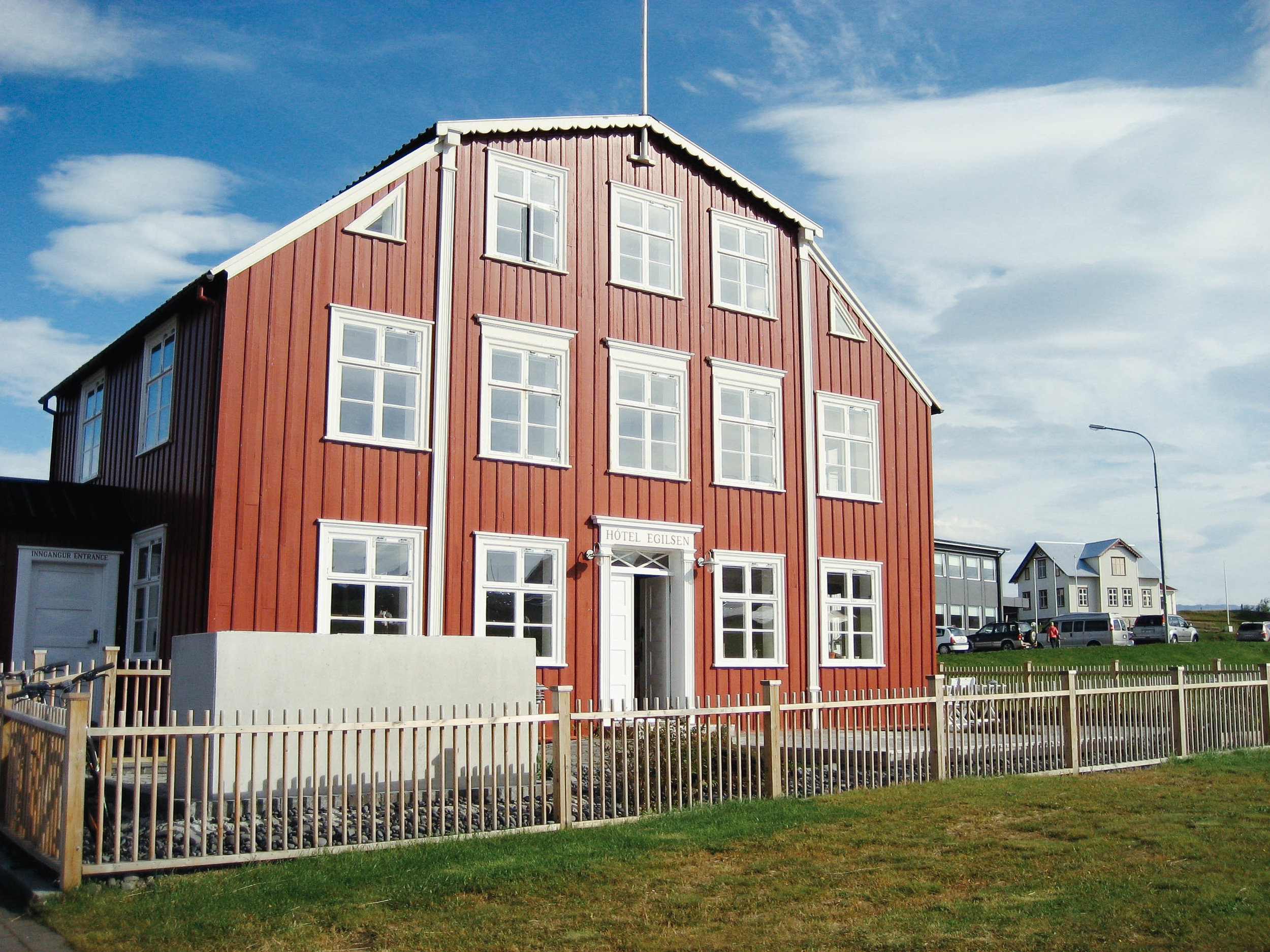 No room at the inn. The inn being this stunning Hotel Egilsen in Stykkishólmur, which was full when we inquired a few weeks prior.