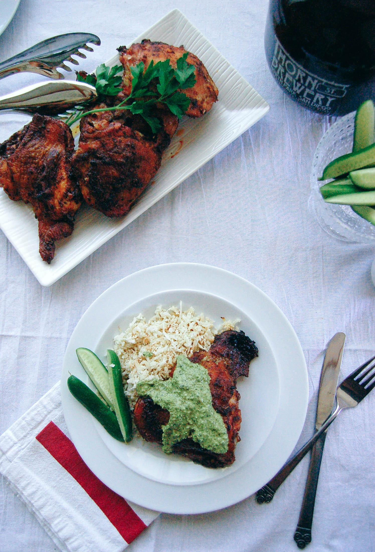 Peruvian Chicken with Aji Criollo