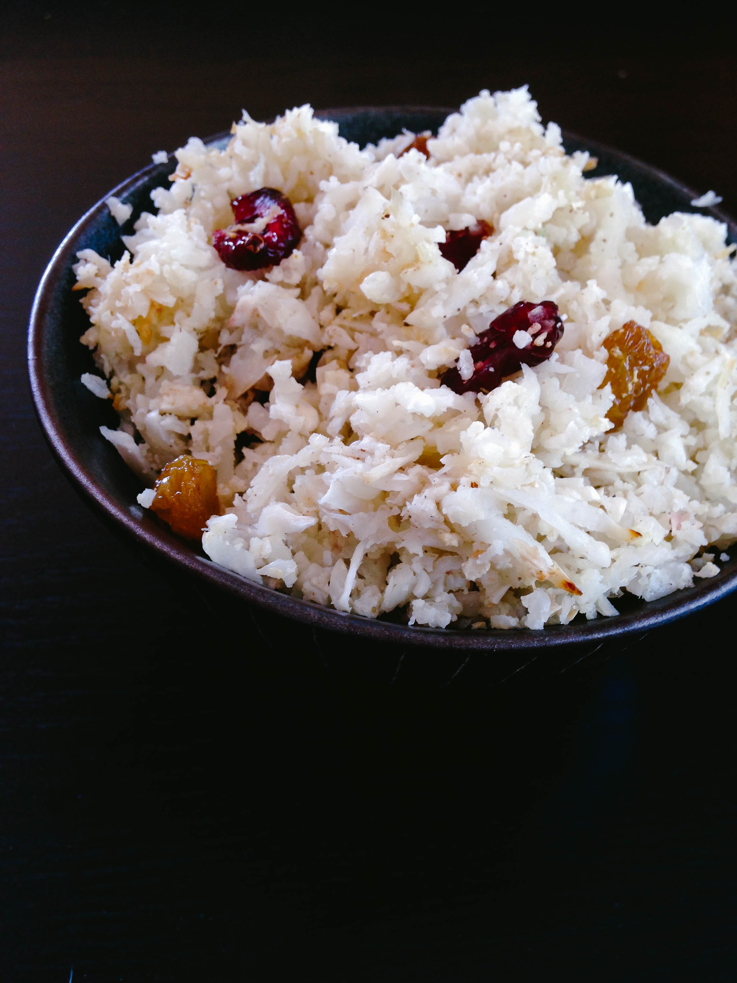 Mangalorean Cauliflower Rice Pulao via Worthy Pause