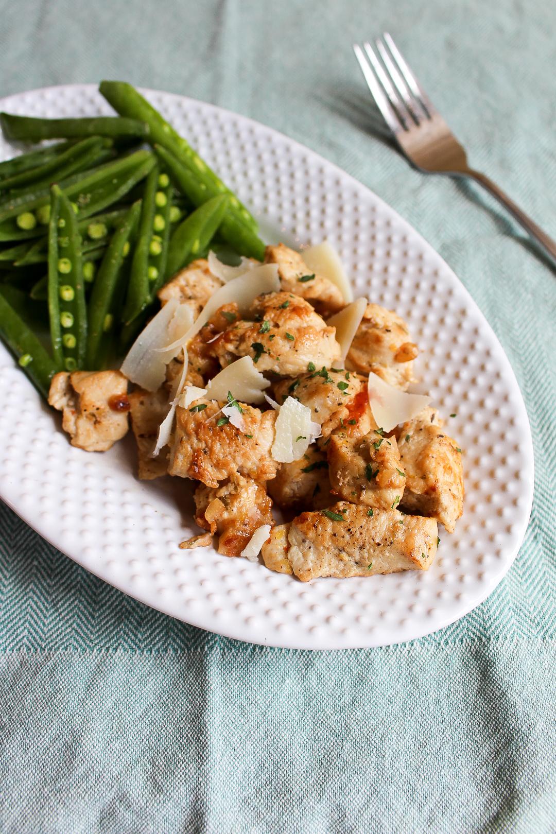 Easy Lemon-Garlic Chicken Recipe