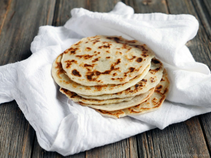 3-Ingredient Paleo Naan