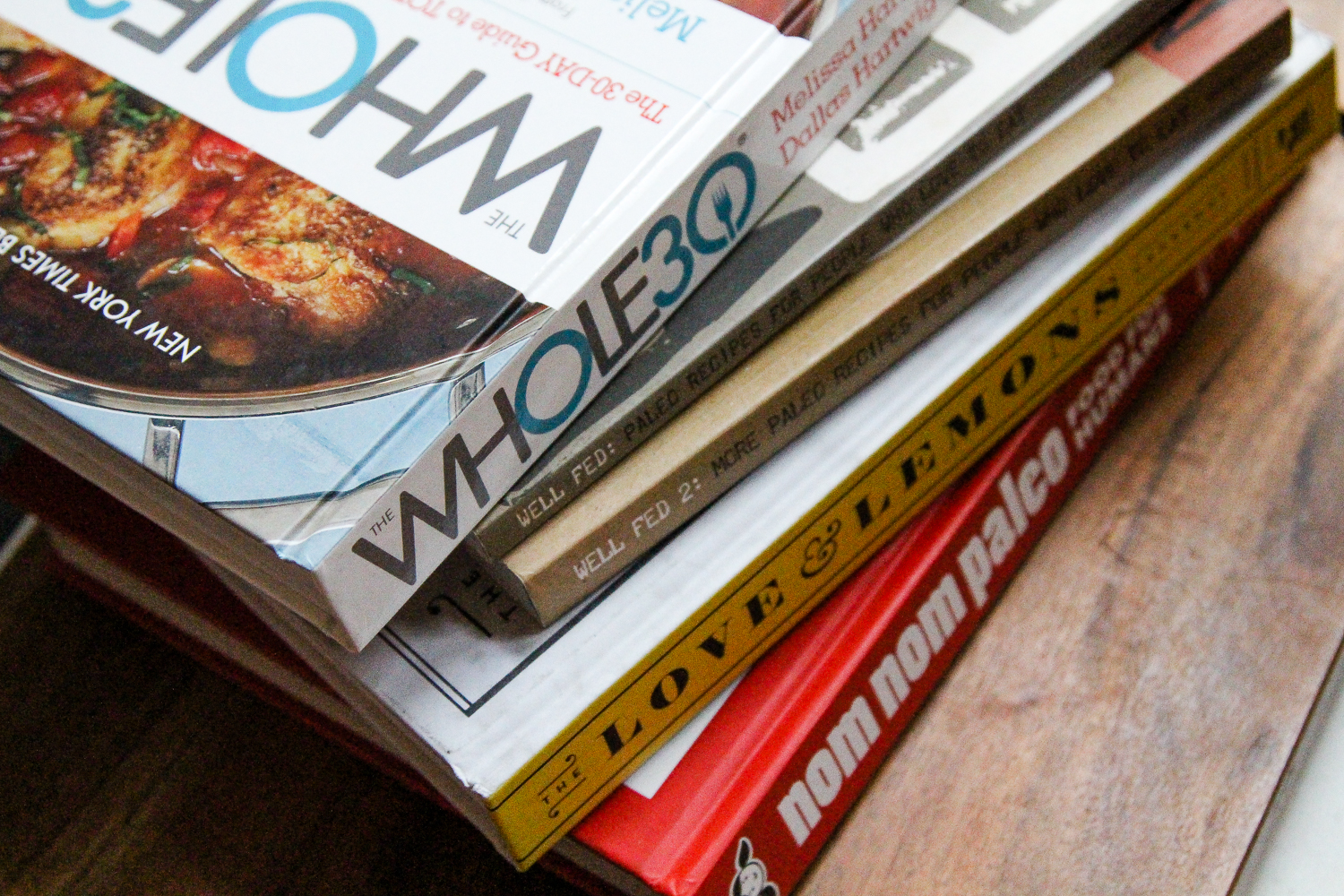 Best Paleo Cookbooks for the Whole30 via Worthy Pause