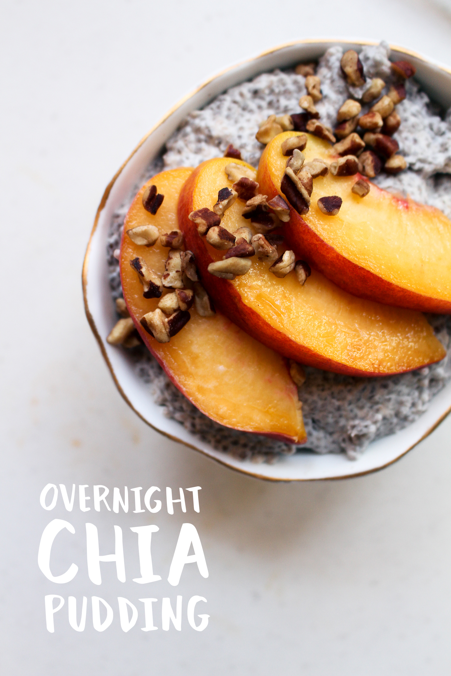 Easy Overnight Paleo Chia Pudding