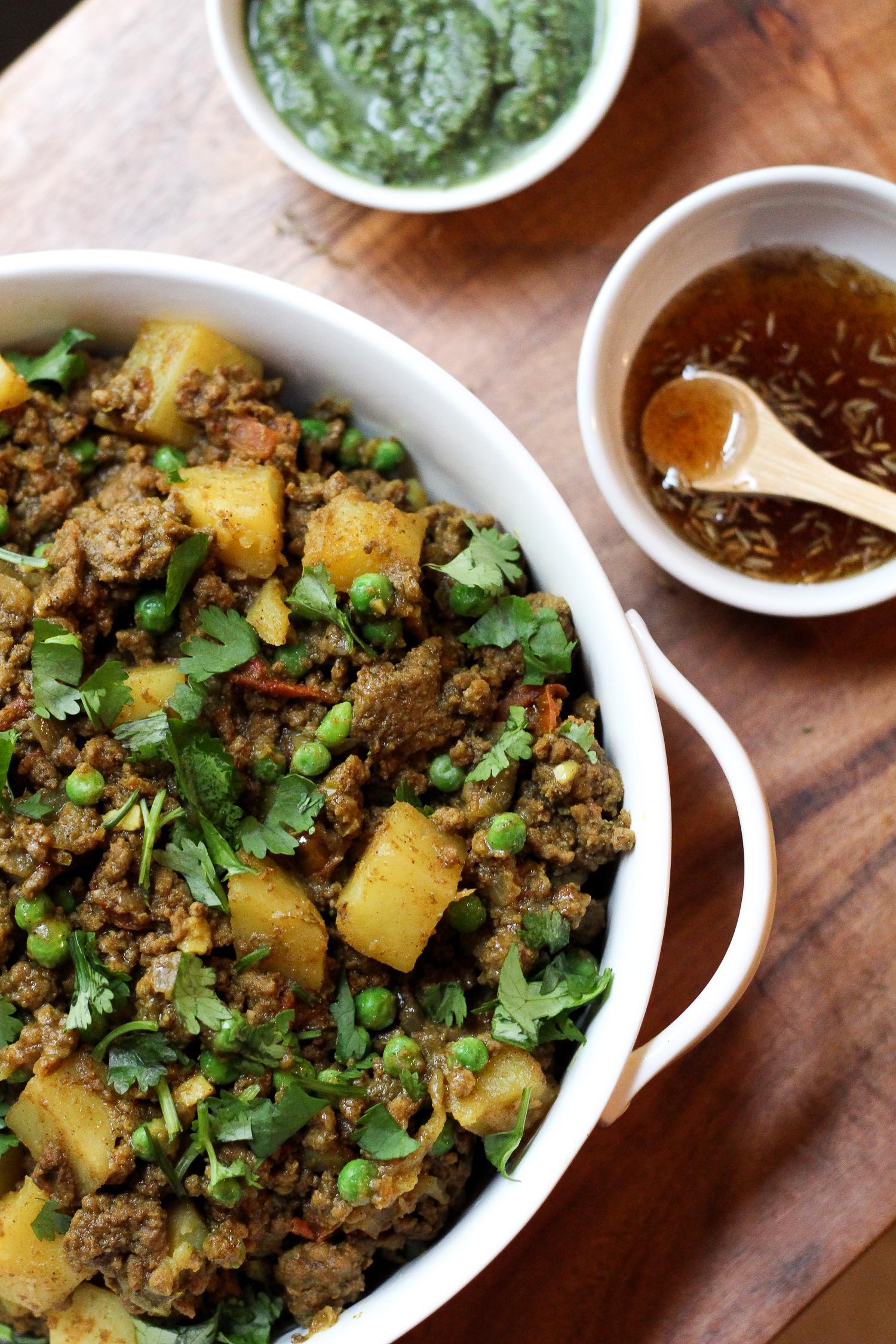 Paleo Ground Beef Keema Recipe via Worthy Pause