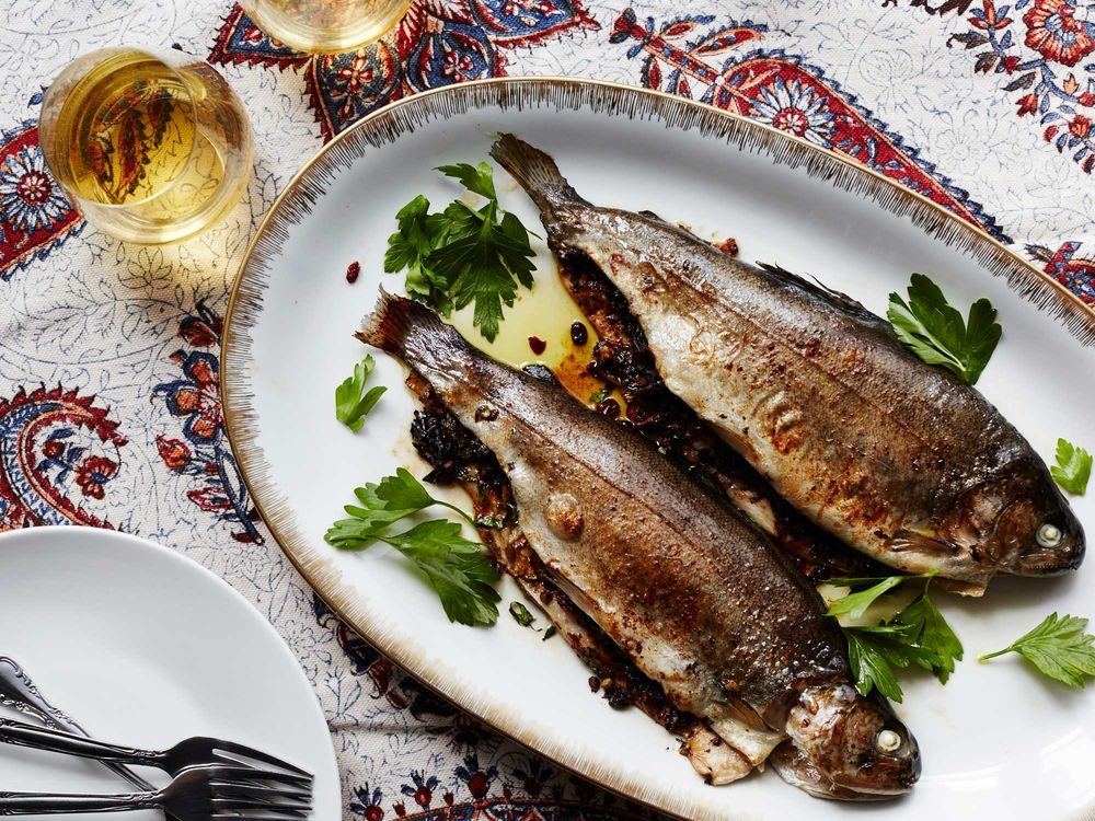 Persian Tamarind-Stuffed Fish: 6 Iranian Recipes to Celebrate Nowruz (Persian New Year) via Worthy Pause