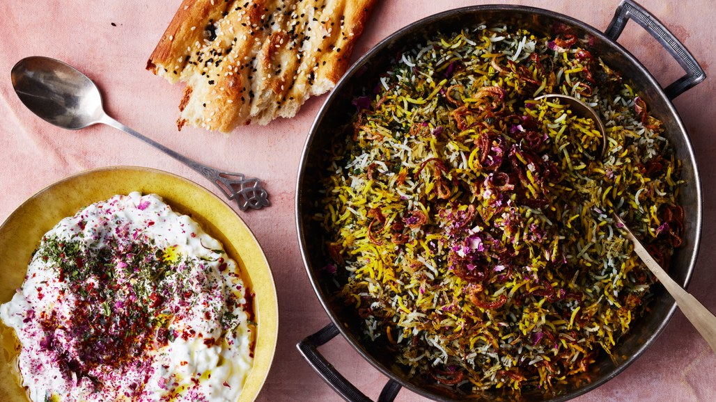 Sabzi Polo: 6 Iranian Recipes to Celebrate Nowruz (Persian New Year!) via Worthy Pause