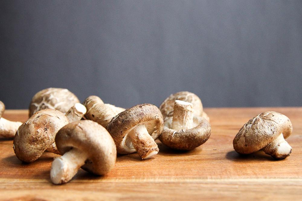 Shiitake Mushrooms via Worthy Pause