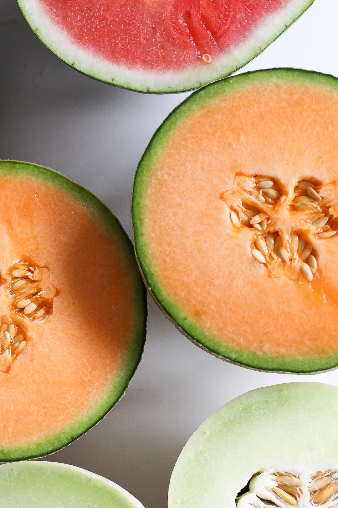 Salty Ancho-Chile Watermelon & CantaloupeMargarita Recipe