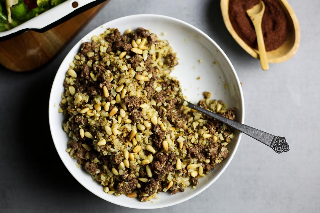 Paleo Hashweh Recipe (Lebanese Dirty Rice) via Worthy Pause