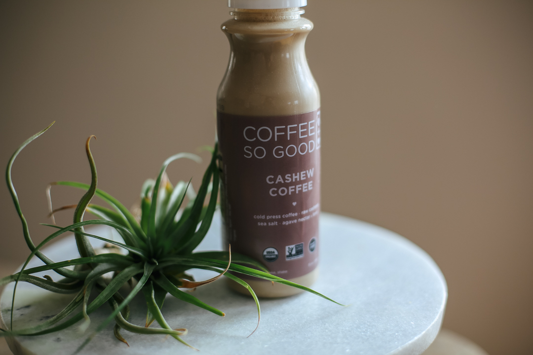 Coffee So Good Cashew Coffee via Worthy Pause