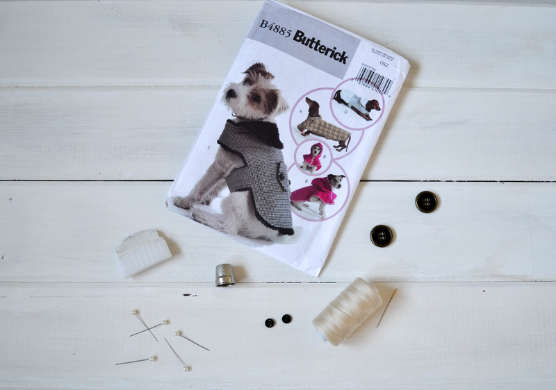 Dog coat sewing pattern review