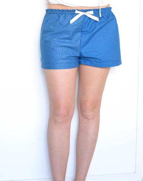 Sewing shorts from Bernina blog