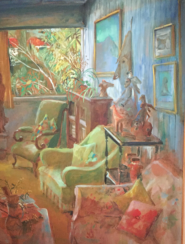 """Painting by Margaret Olley called """"Interior IV"""""""