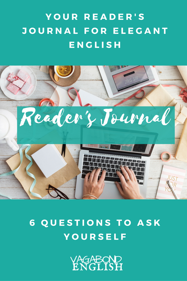 Do you need more accurate and elegant English? Your reader's journal can help.