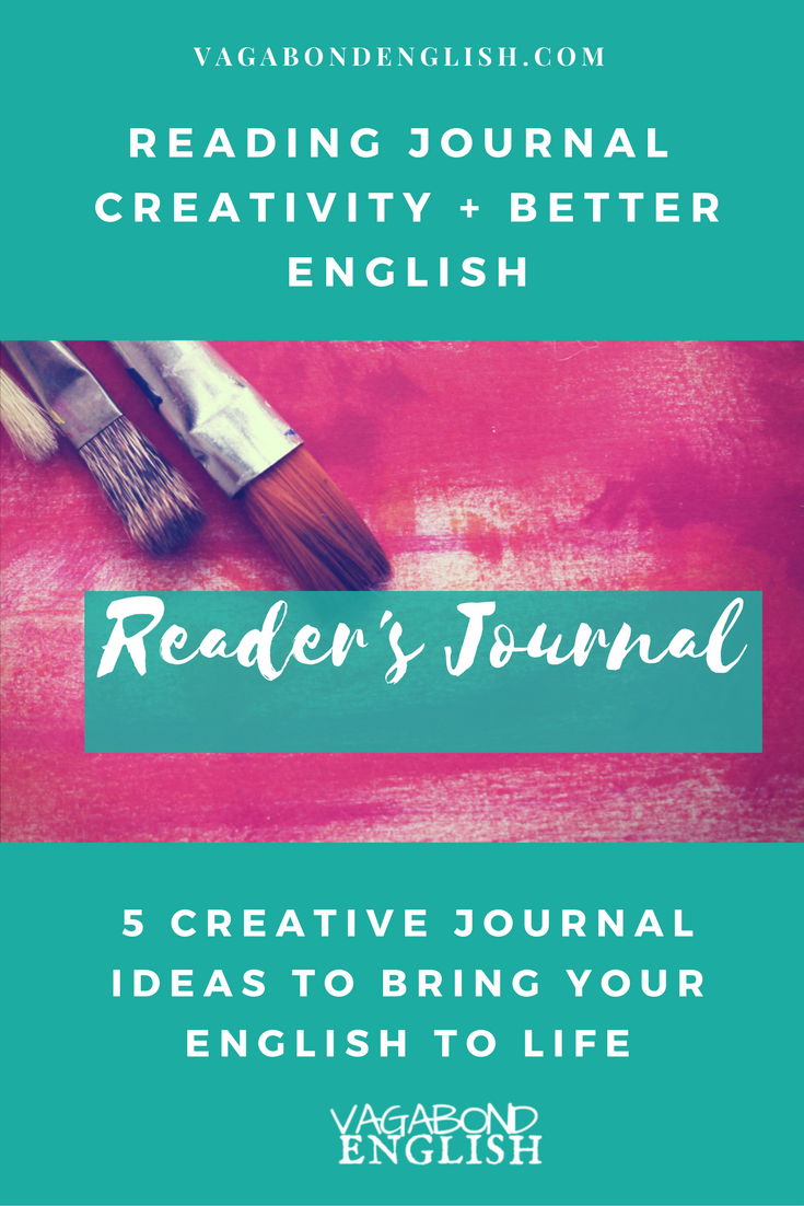 Reading Journal for Creativity and Better English