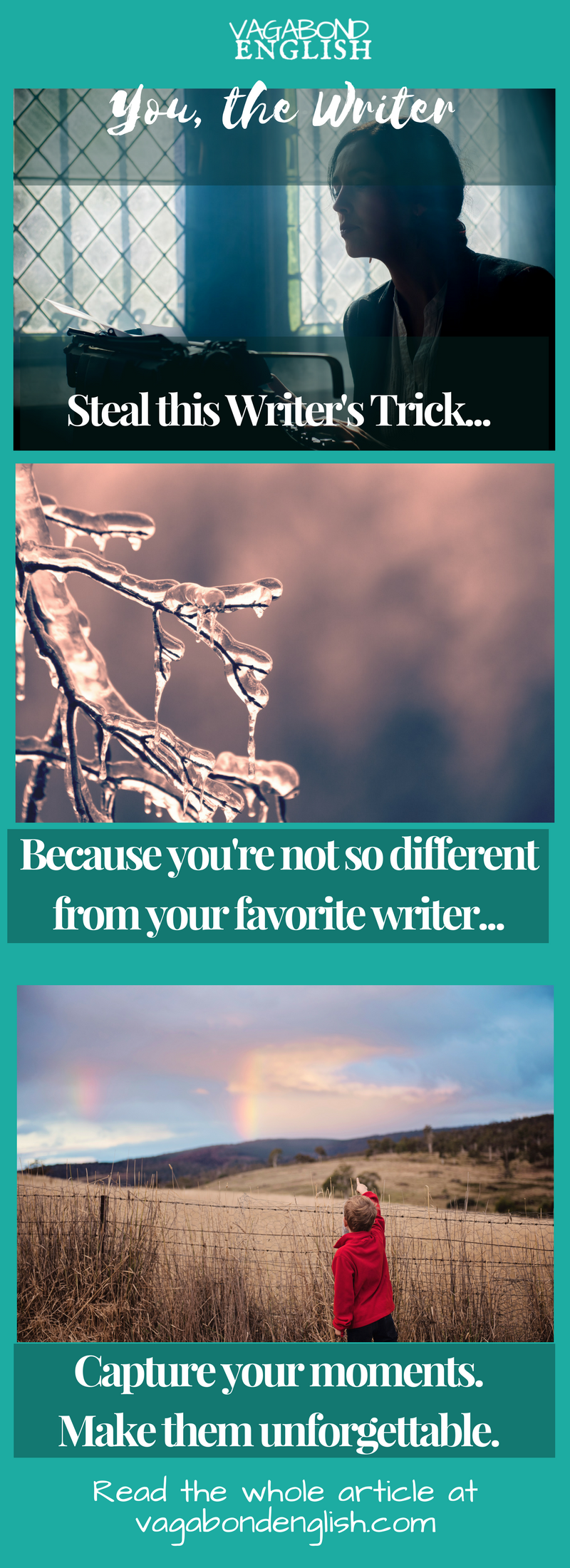 Why your not so different from your favorite author.