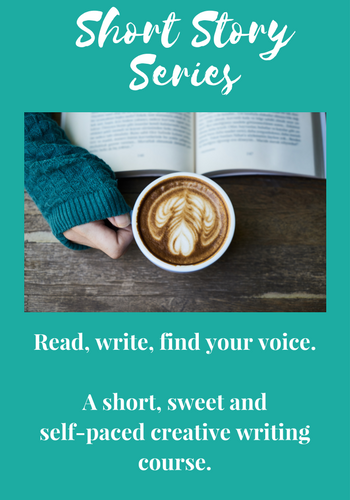 Pssst! Looking for a little writing inspiration?  Try this free self-paced course .  Draw inspiration from short stories online, your life and some creative writing prompts to get you started. Who knows where you'll end up!
