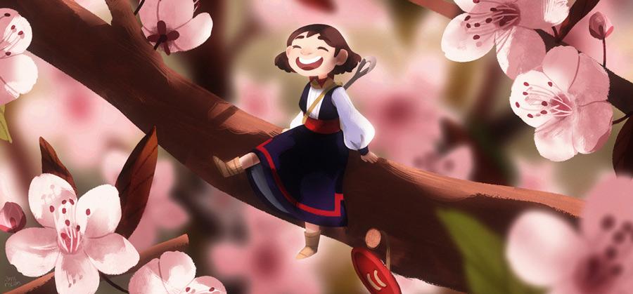 On-the-sakura-treeS.jpg