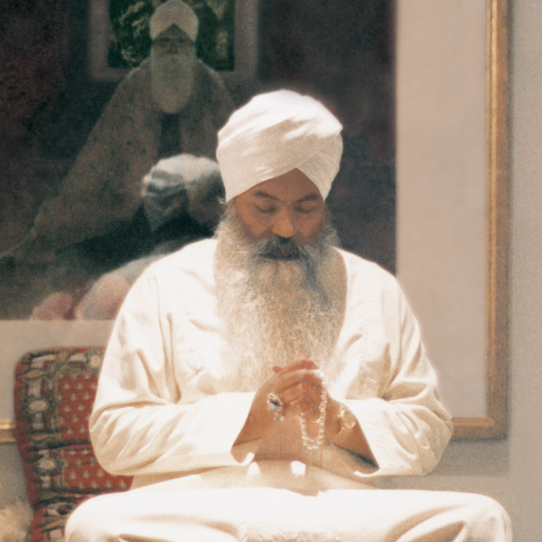 Yogi Bhajan: Teacher & Founder   Yogi Bhajan was a spiritual teacher of great caliber. He was born on the 26th of August, 1929, in the north of India. He left his body on October 6, 2004, in Espanola, USA. He studied a variety of yogic and spiritual teachings from an early age, becoming a master of Kundalini Yoga at the age of sixteen. Living the life of a householder (he was married and had three children) he decided in 1968 to go to the west and teach. From this beginning a worldwide organization (3HO Foundation, the Healthy, Happy, Holy Organization) has grown, a non-profit organization dedicated to spreading the teachings of Kundalini Yoga. Inspired by Yogi Bhajan, a number of 3HO members have embraced the Sikh religion, many aspects of which are relevant to present times including the equality of men and women of all religions, races and cultures. Yogi Bhajan put his whole heart in teaching yogic techniques, formerly shrouded by secrecy, to help humanity to find its natural joy, which he considered its birthright. He taught a large number of yoga sets and gave nutritional advice to maintain good health. Since his first conference in Los Angeles in 1969 he has offered the technology of Kundalini Yoga as a way to deeply understand and experience what it means to be a human being.