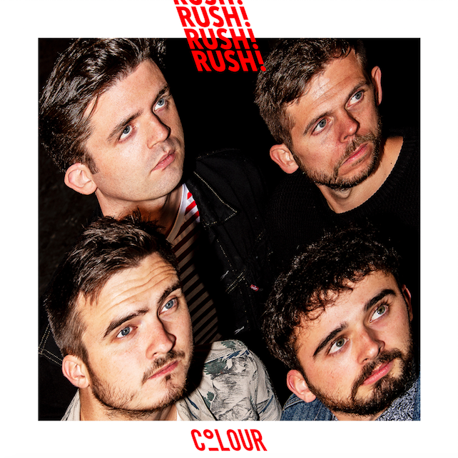 COLOUR Rush new single. Lyrics: Inside you'll never make a stitch in time, running outside you loose all of your nine lives